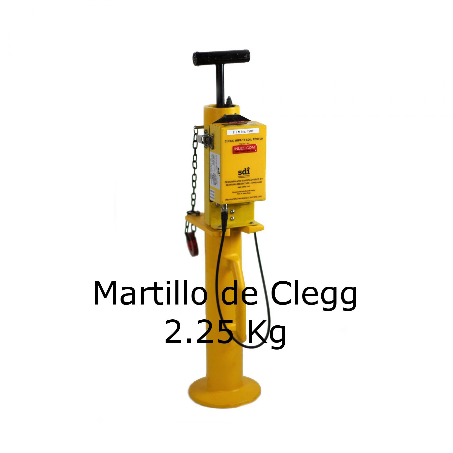 Martillo de Clegg de 2.25 kg
