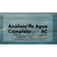 análisis completo de agua