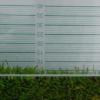 Medidor prisma de altura de césped