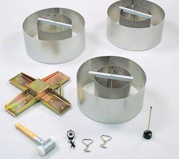 infiltrómetro de doble anillo