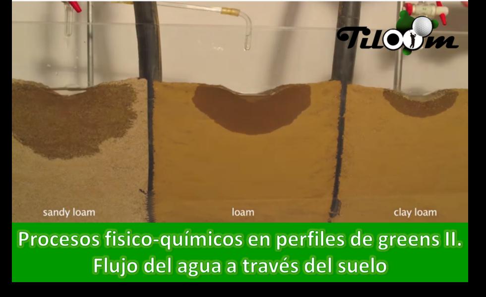 procesos fisico quimicos en suelos flujo del agua a traves del suelo