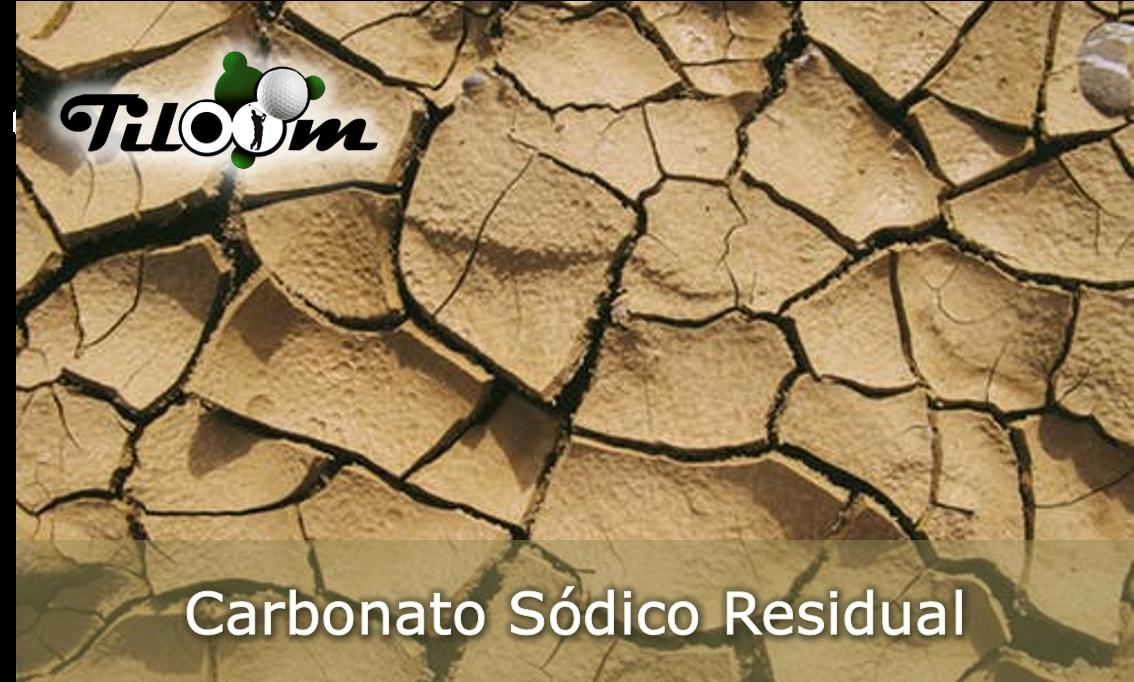 Carbonato sódico residual - CRS - RSC