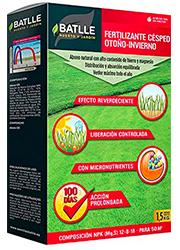 Fertilizante Césped Profesional Otoño-Invierno Caja 1,5 Kg.