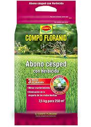 Abono Césped Floranid + Herbicida 7,5 Kg